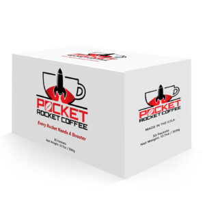 Pocket Rocket Coffee Box 30-days of male vitality and performance